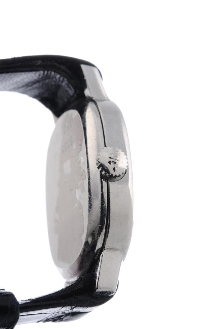 JAEGER-LECOULTRE- a lady's wrist watch. Stainless steel - 2