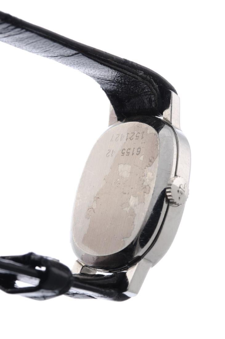 JAEGER-LECOULTRE- a lady's wrist watch. Stainless steel - 3