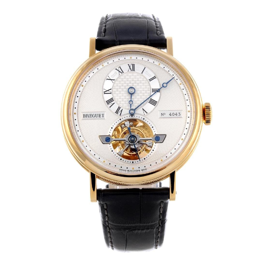 BREGUET - a gentleman's Grande Complication Tourbillon