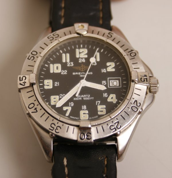 2005:  BREITLING - a gentleman's stainless steel Colt q