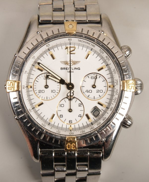 2006:  BREITLING - a gentleman's stainless steel Windri