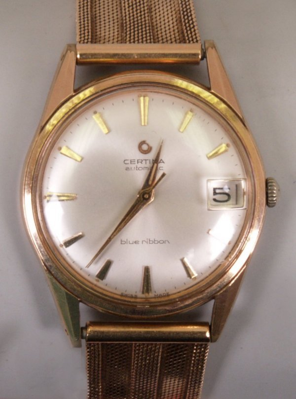2020:  CERTINA - Gentleman's gold plated automatic wris