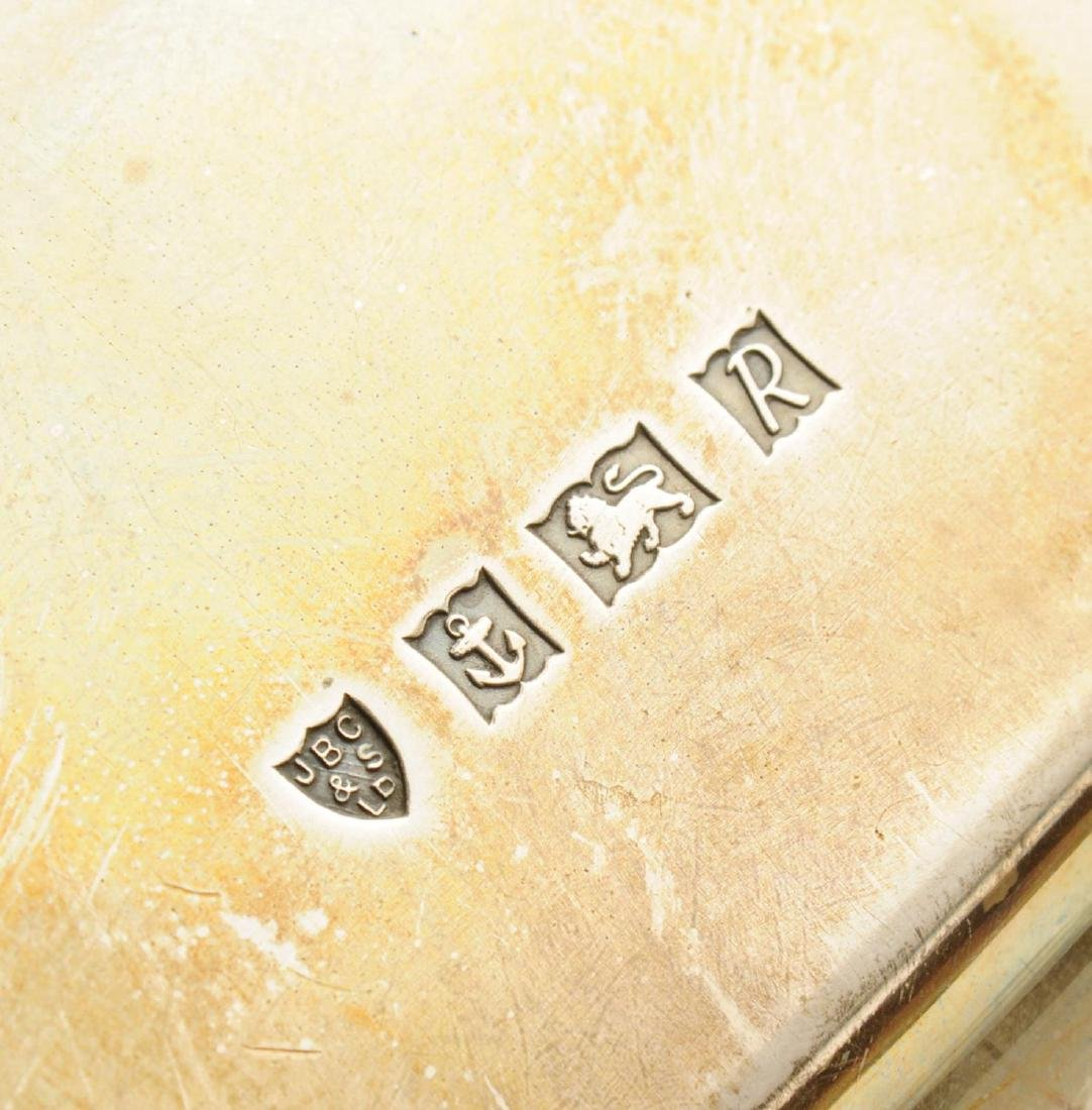 A 1960's silver salver, of plain square shaped form - 2