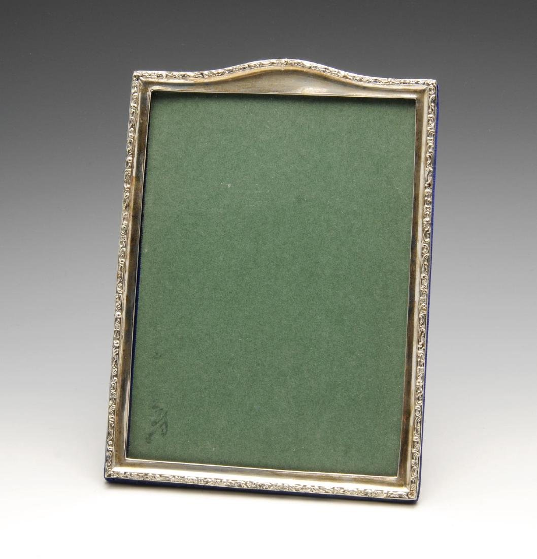 An early twentieth century silver mounted photograph
