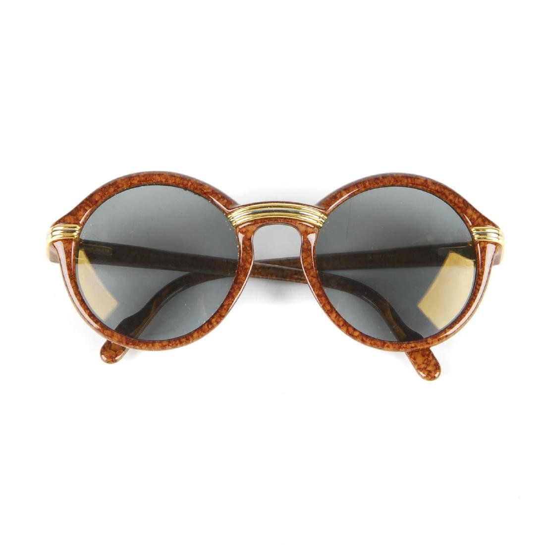 CARTIER - a pair of Cabriolet sunglasses. Designed with