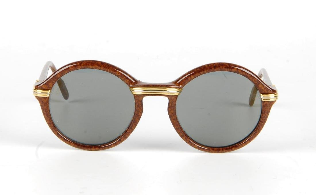 CARTIER - a pair of Cabriolet sunglasses. Designed with - 2