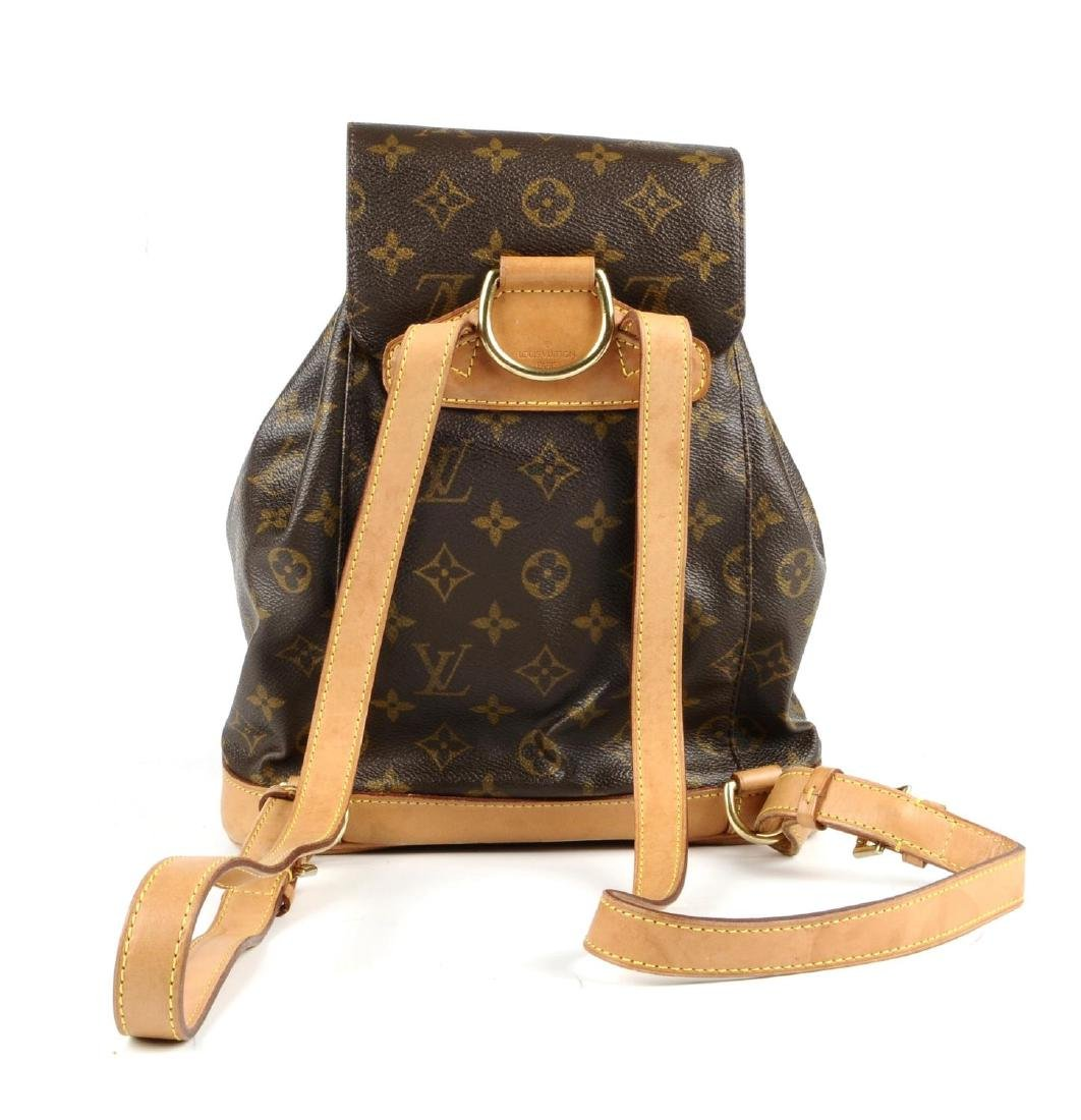 LOUIS VUITTON - a Monogram Montsouris MM backpack. - 5
