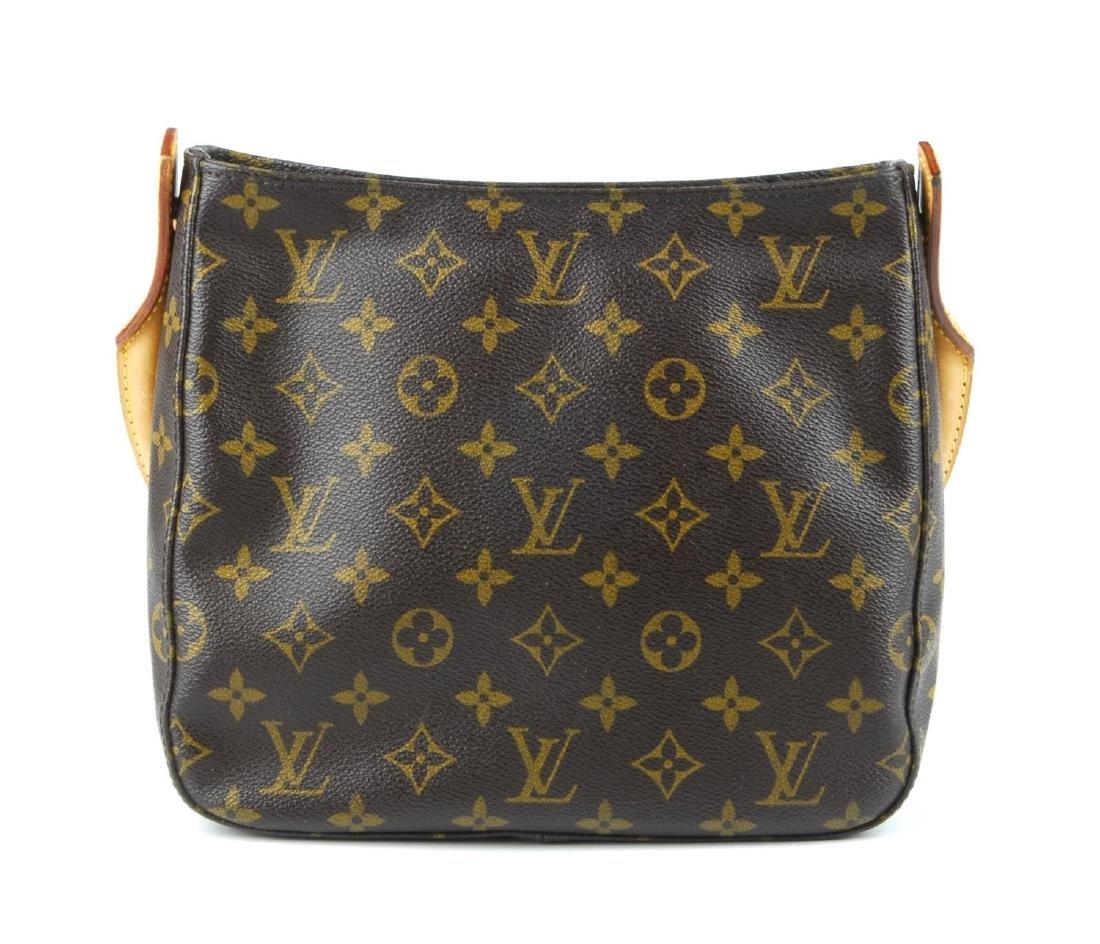 LOUIS VUITTON - a Monogram Looping MM handbag. - 4
