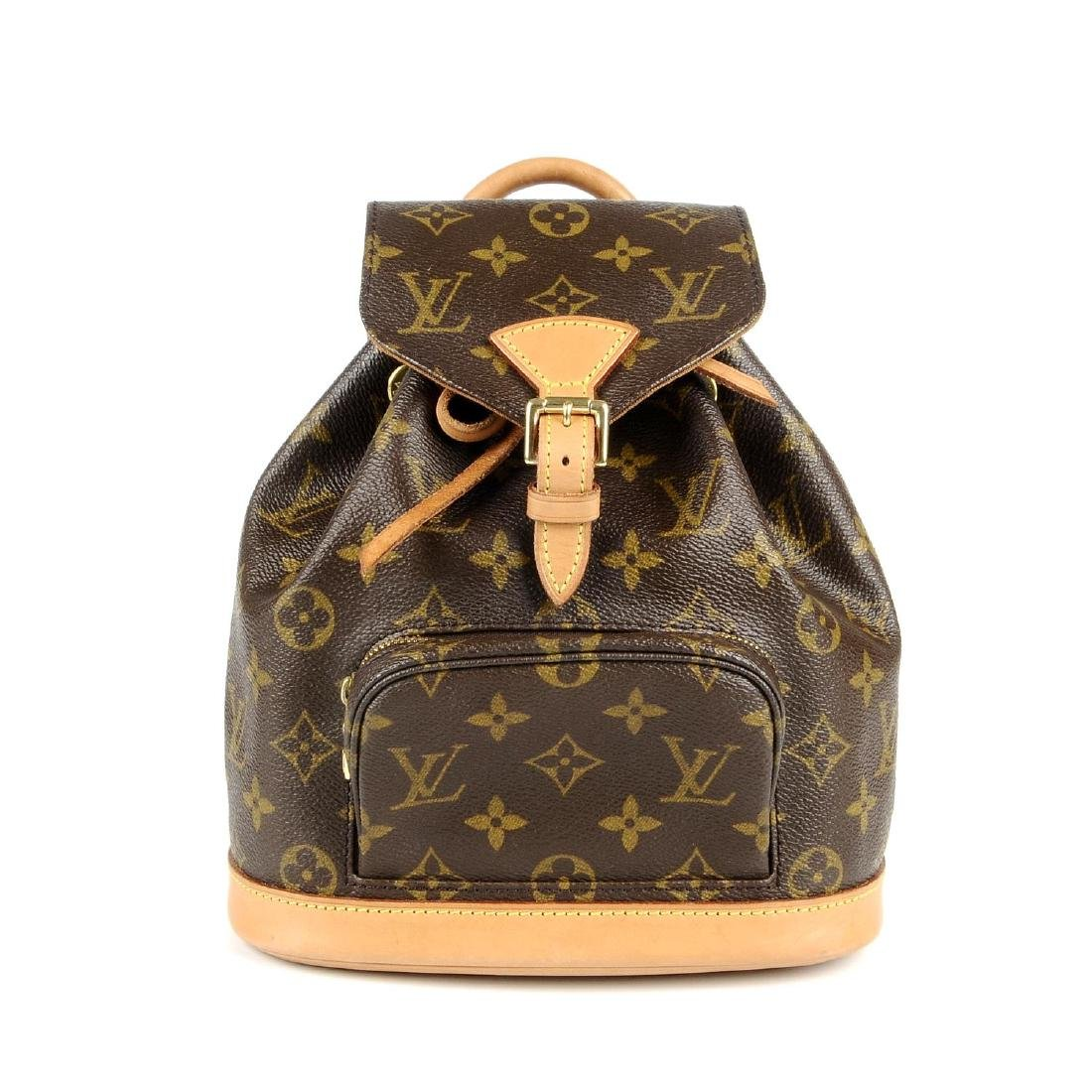LOUIS VUITTON - a Mini Monogram Montsouris backpack.