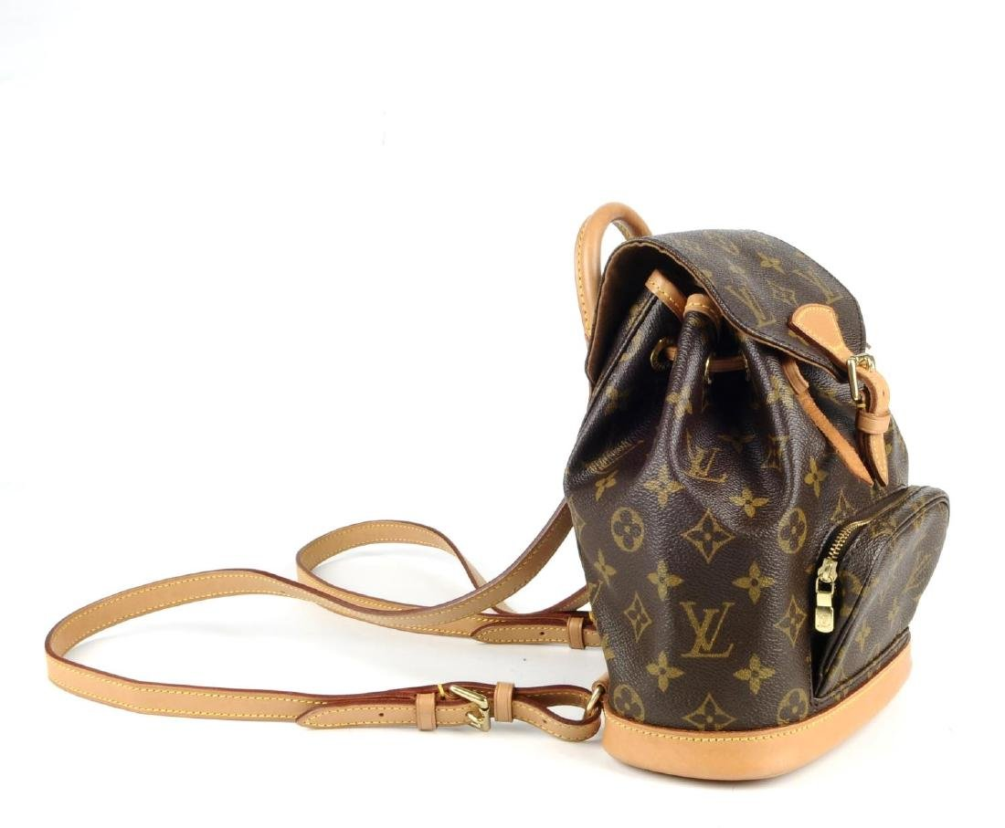 LOUIS VUITTON - a Mini Monogram Montsouris backpack. - 2