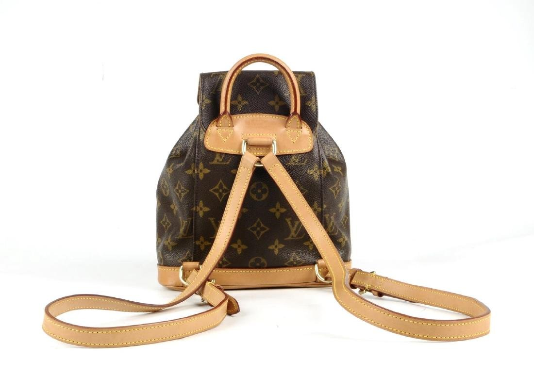 LOUIS VUITTON - a Mini Monogram Montsouris backpack. - 3