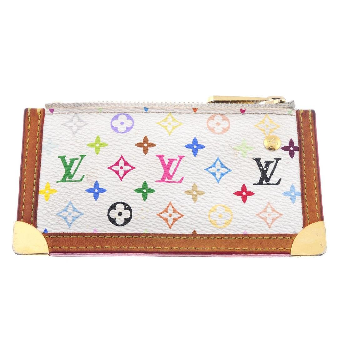LOUIS VUITTON - a Multicolor Monogram Pochette Cles