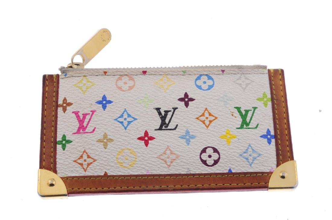 LOUIS VUITTON - a Multicolor Monogram Pochette Cles - 2