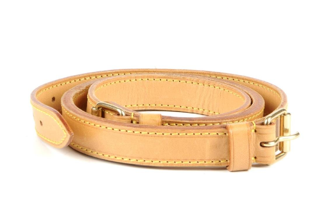 LOUIS VUITTON - a leather shoulder strap. Crafted from - 2