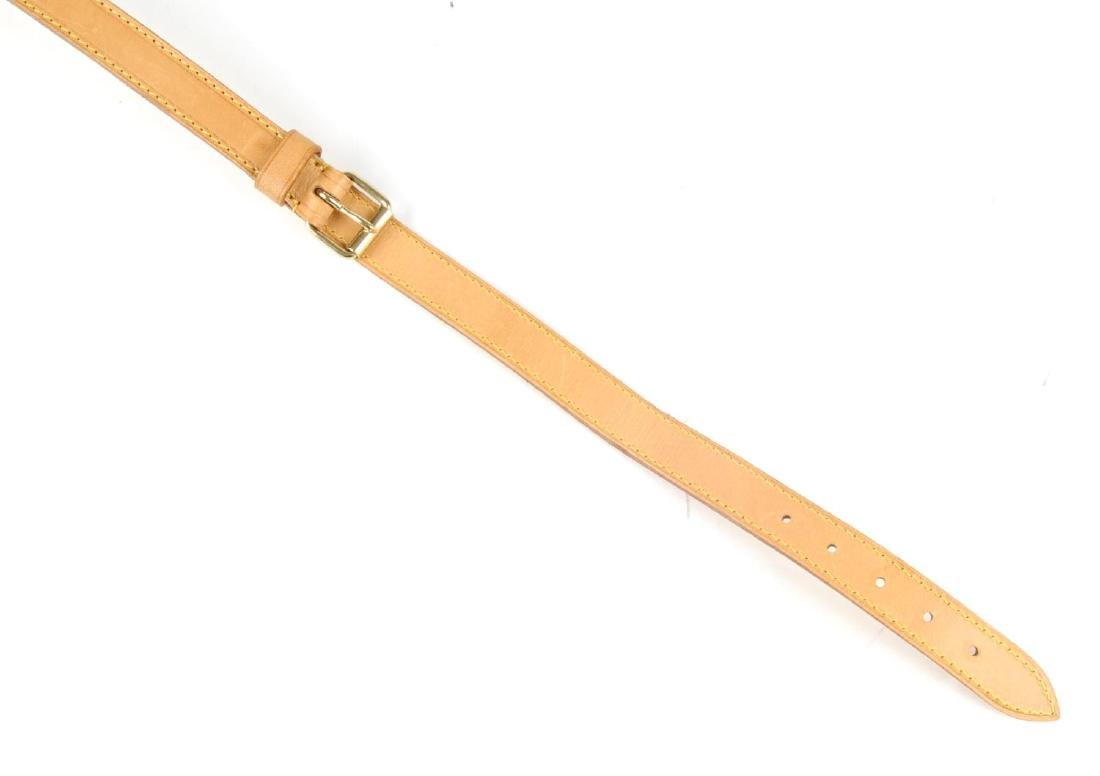 LOUIS VUITTON - a leather shoulder strap. Crafted from - 3