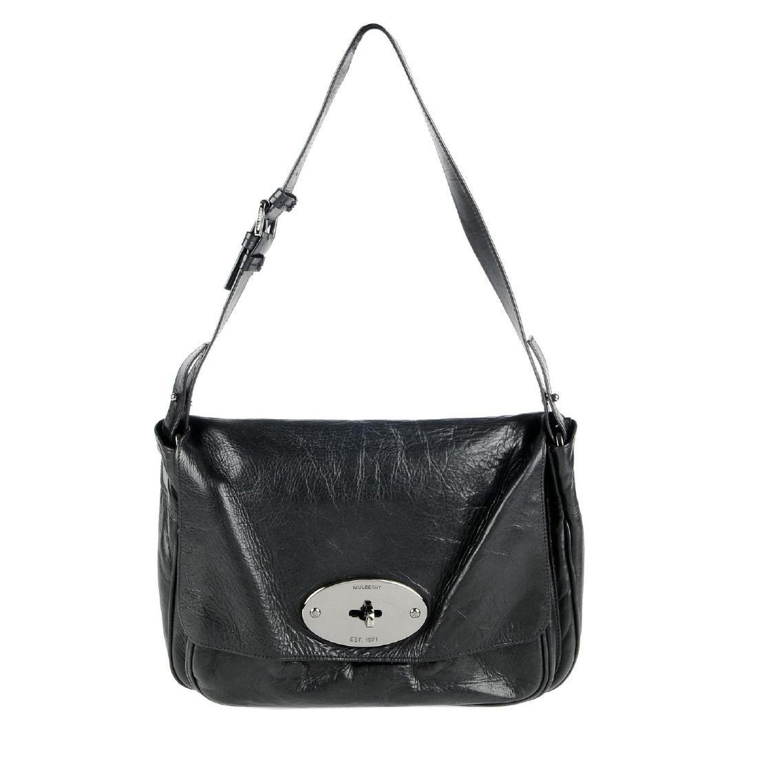 MULBERRY - an oversized Bayswater clutch. Designed with