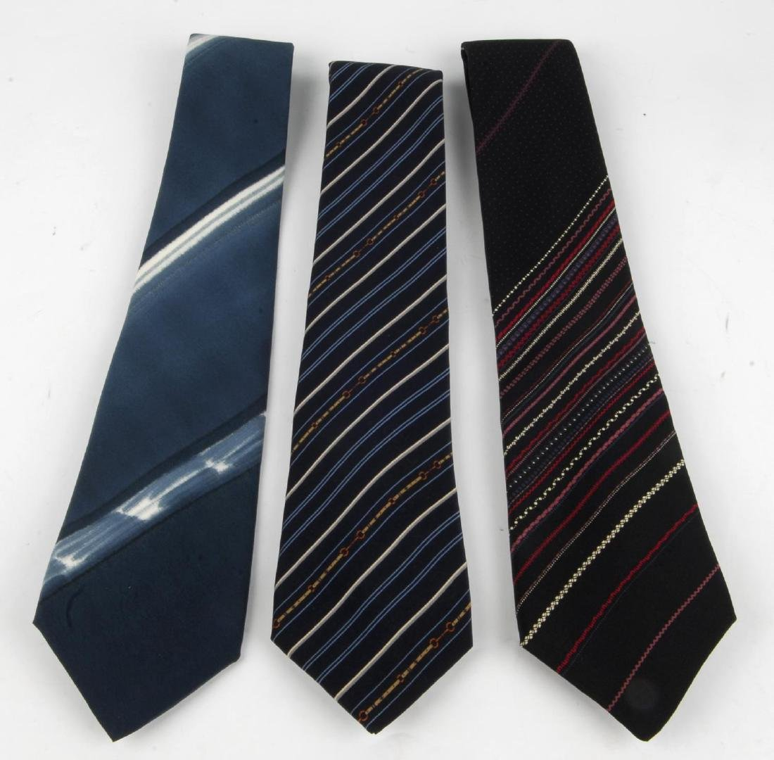 PIERRE BALMAIN - six ties. To include two blue ties, a - 2
