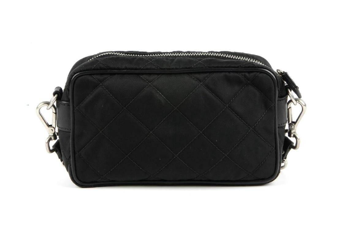 PRADA - a small nylon quilted camera handbag. Designed - 5