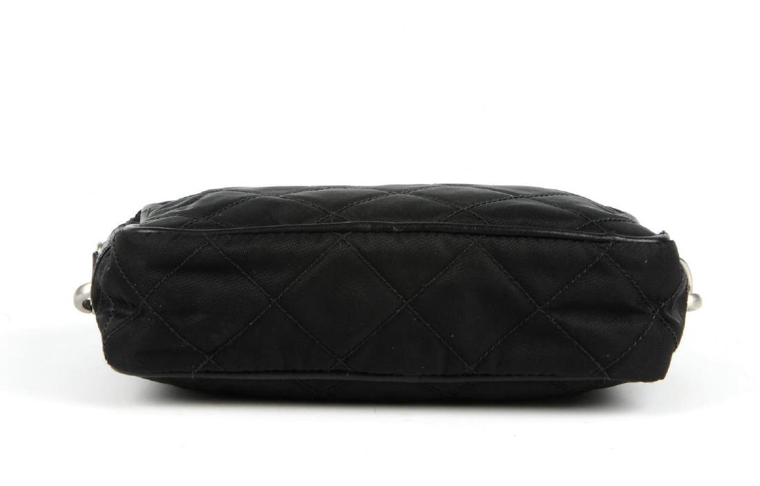 PRADA - a small nylon quilted camera handbag. Designed - 6