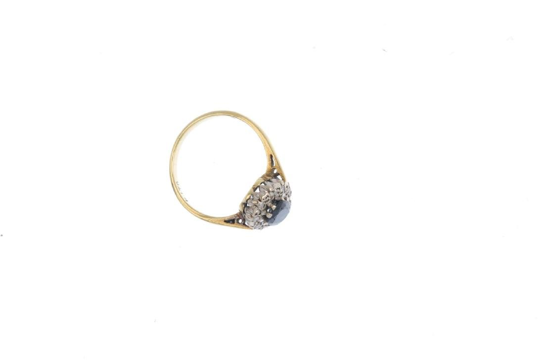 Two gem-set rings. To include a mid Victorian memorial - 6