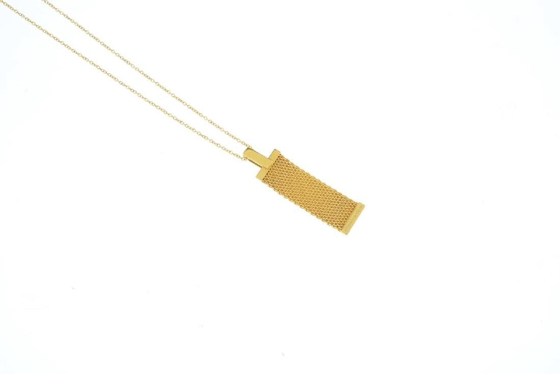 TIFFANY & CO. - a diamond 'Somerset' pendant. The - 2