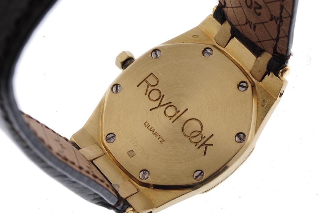 AUDEMARS PIGUET - a gentleman's Royal Oak wrist watch. - 3