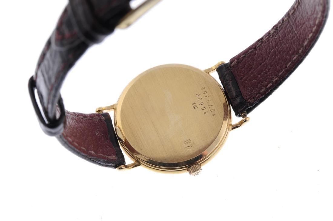 BAUME & MERCIER - a lady's wrist watch. 18ct yellow - 3