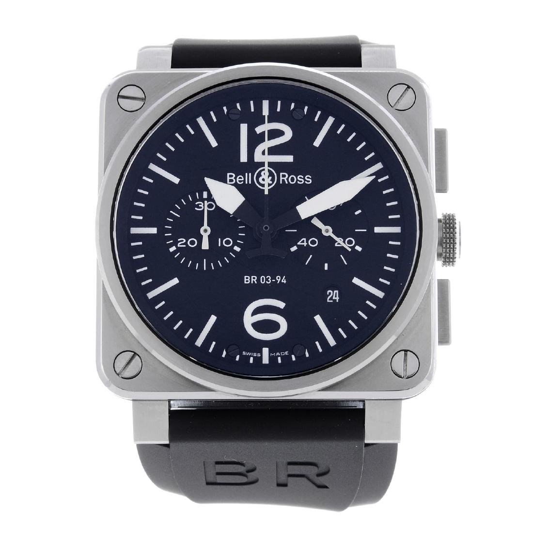BELL & ROSS - a gentleman's Aviation chronograph wrist