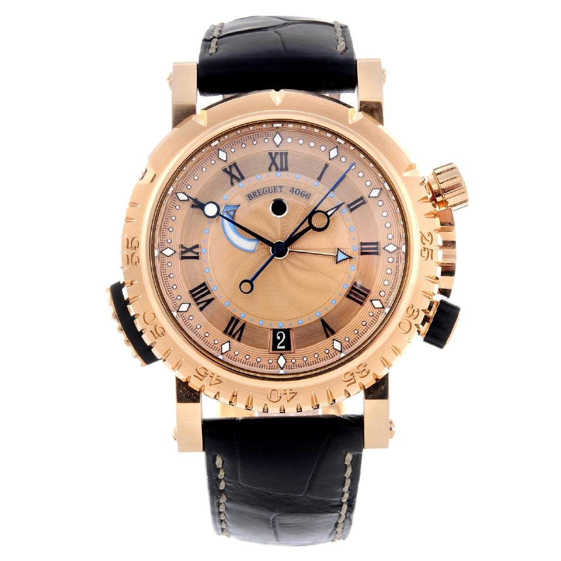 BREGUET - a gentleman's Marine Royale alarm wrist