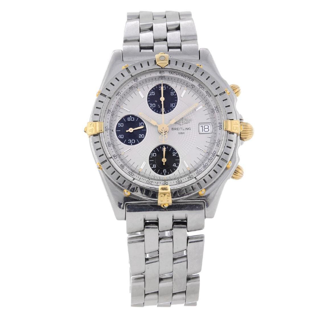 BREITLING - a gentleman's Chronomat Vitesse chronograph