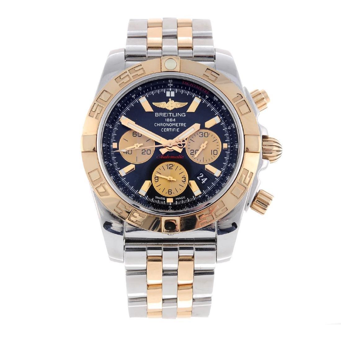 BREITLING - a gentleman's Chronomat 44 chronograph