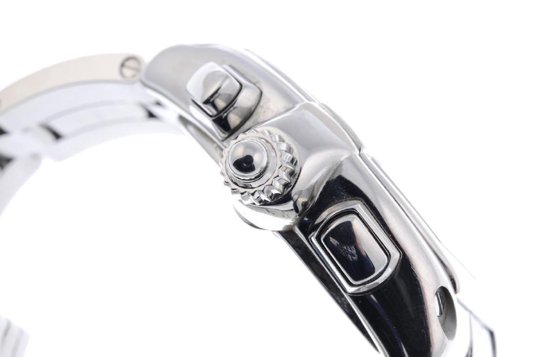 CARTIER - a Roaster chronograph bracelet watch. - 4