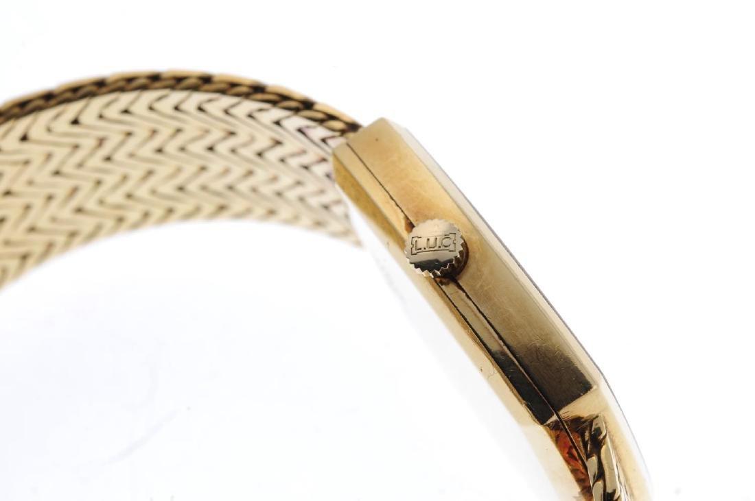 CHOPARD - a gentleman's bracelet watch. 18ct yellow - 4
