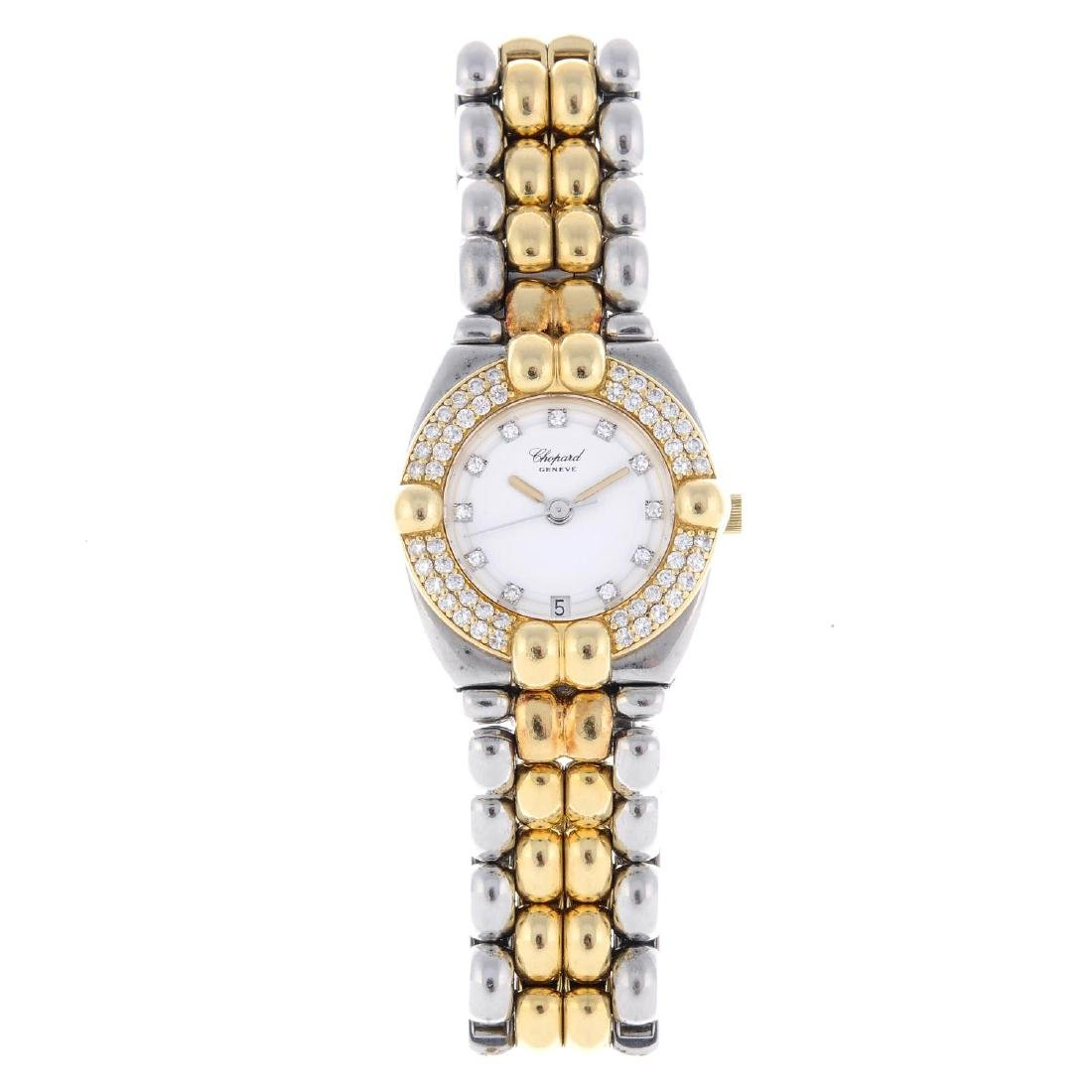 CHOPARD - a lady's Gstaad bracelet watch. Stainless