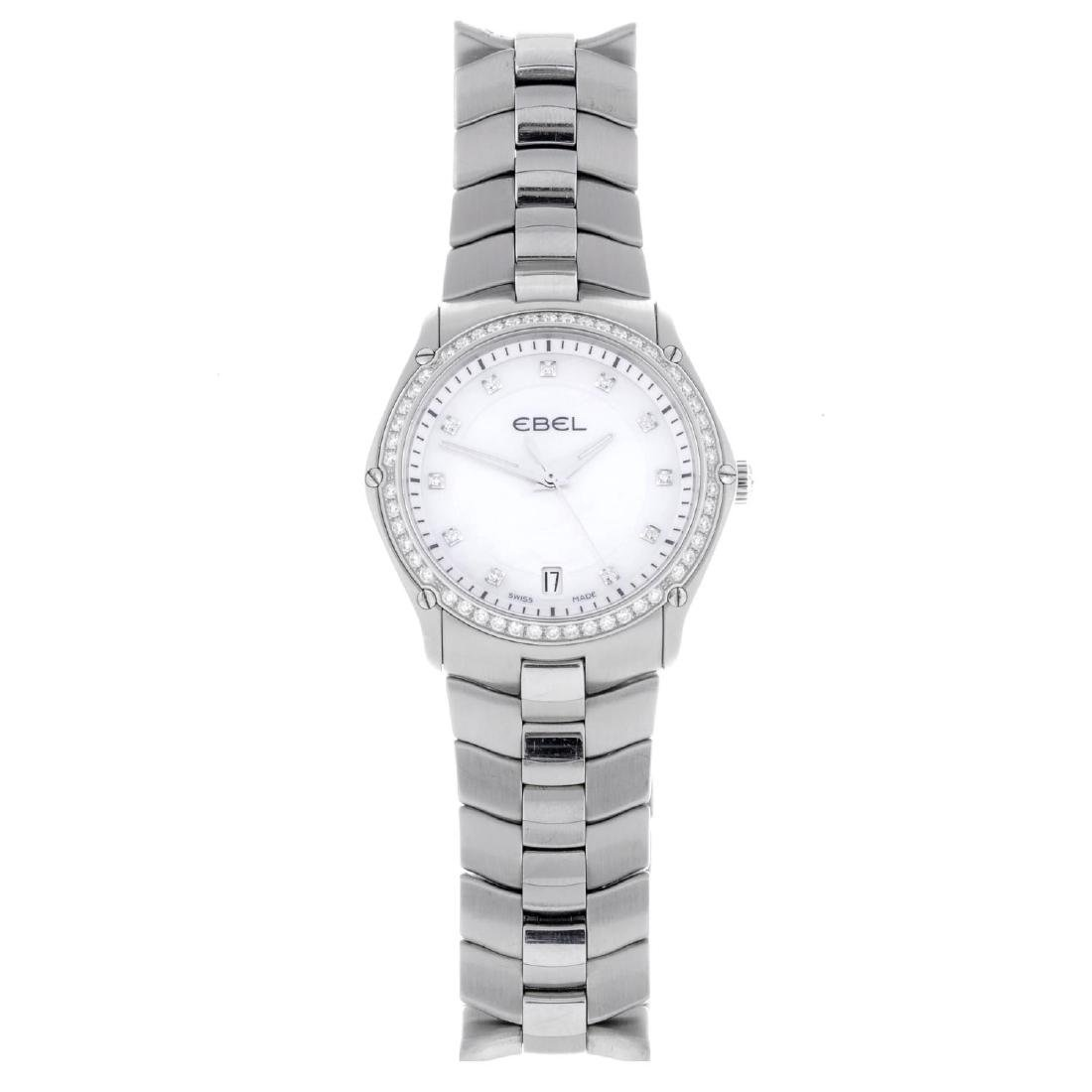 EBEL - a lady's Classic Sport bracelet watch. Stainless