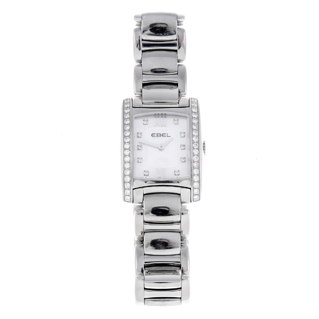 CURRENT MODEL: EBEL - a lady's Brasilia bracelet watch.