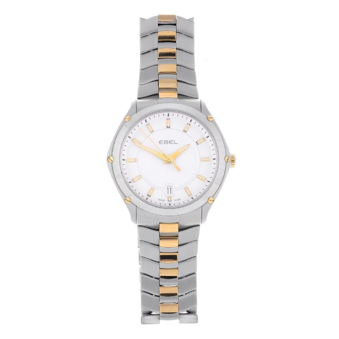 EBEL - a gentleman's Classic Sport bracelet watch.