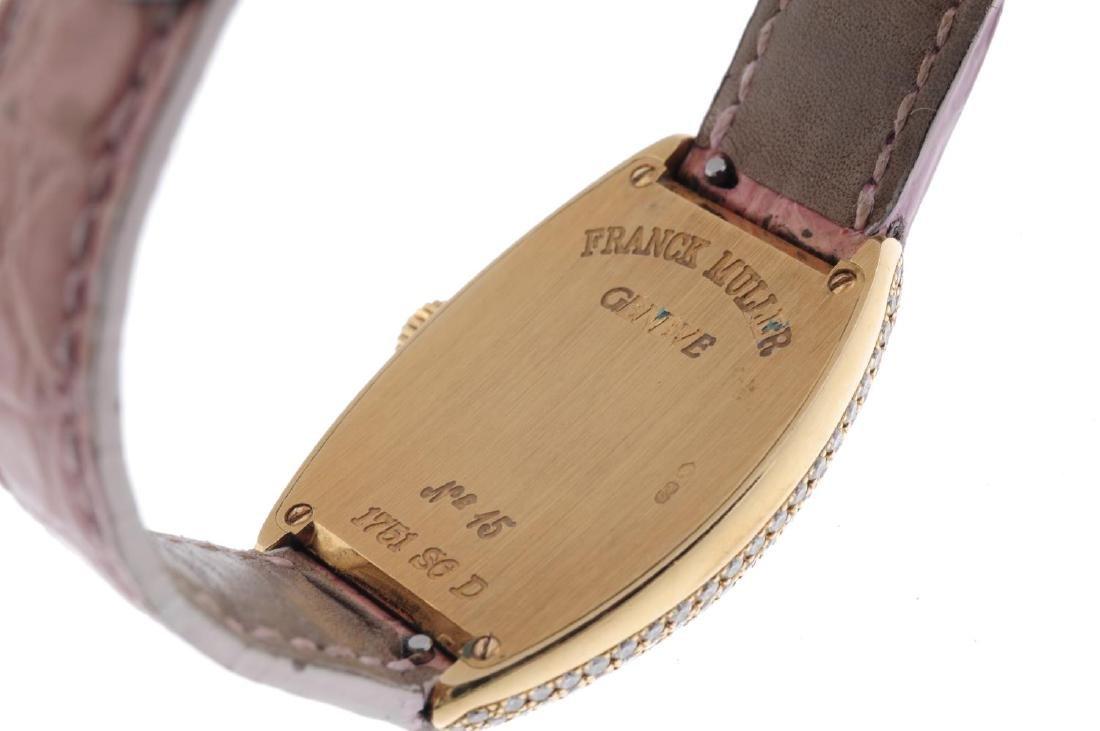 FRANCK MULLER - a lady's Cintree Curvex wrist watch. - 2