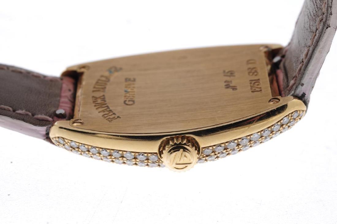 FRANCK MULLER - a lady's Cintree Curvex wrist watch. - 3