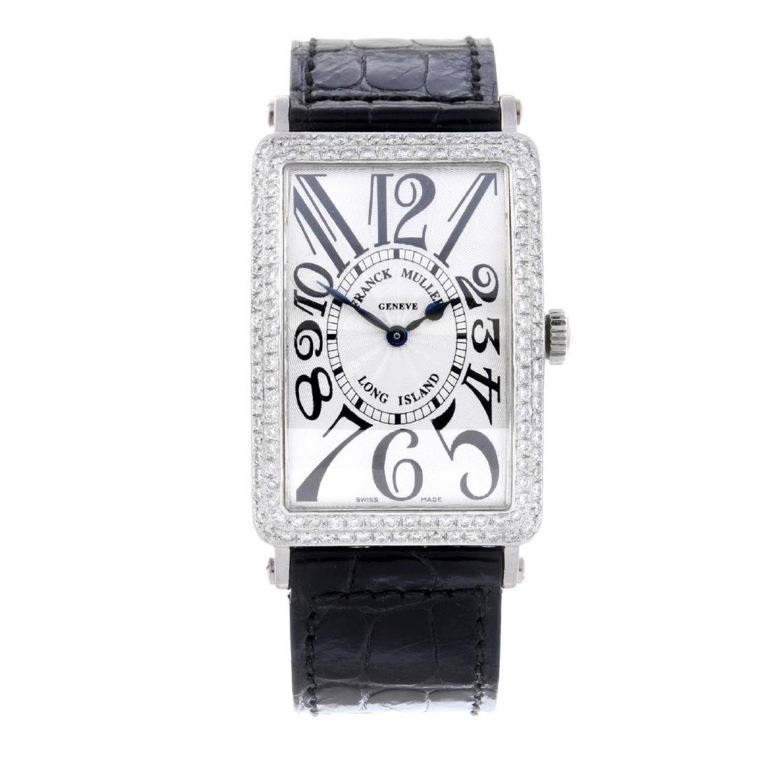 FRANCK MULLER - a gentleman's Long Island wrist watch.