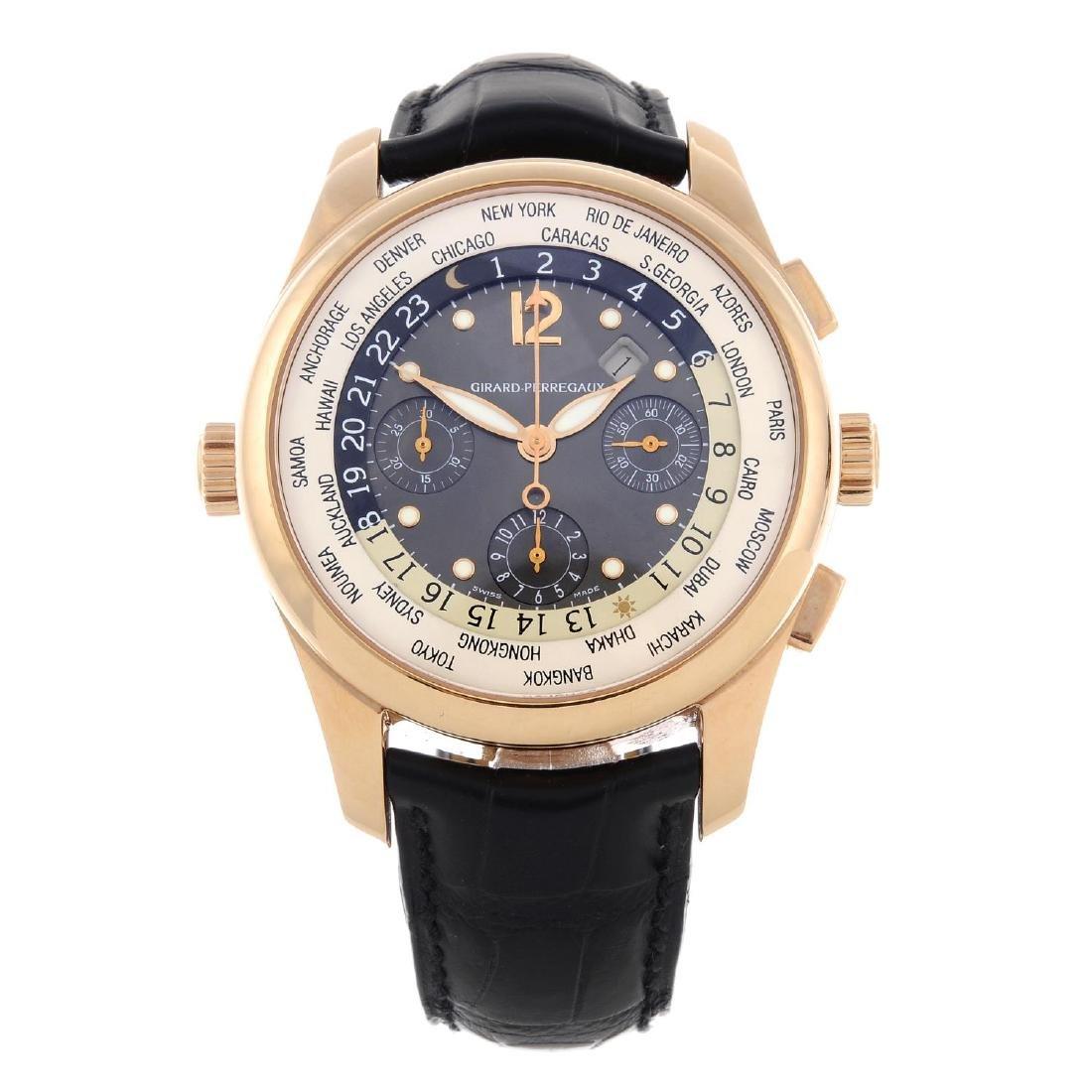 GIRARD-PERREGAUX - a gentleman's World Time chronograph
