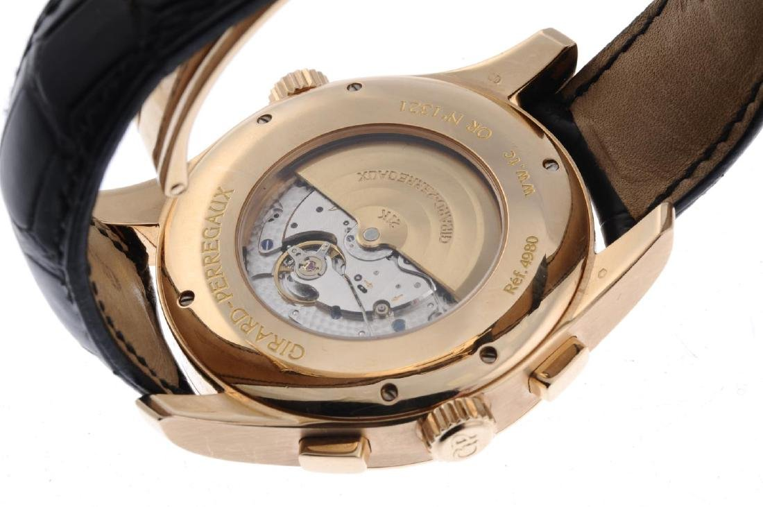 GIRARD-PERREGAUX - a gentleman's World Time chronograph - 3
