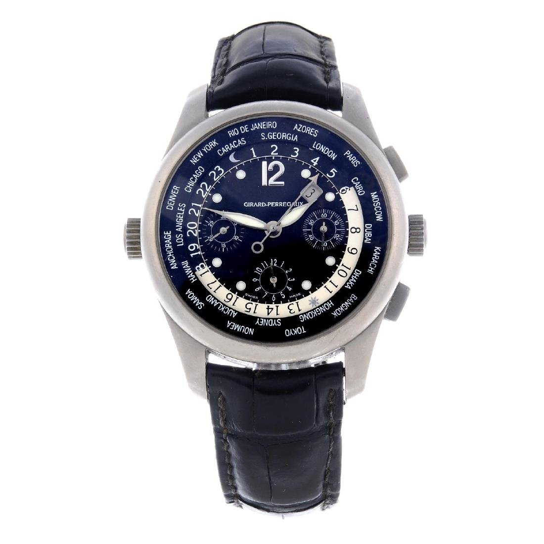 GIRARD PERREGAUX - a gentleman's WW.TC World Time