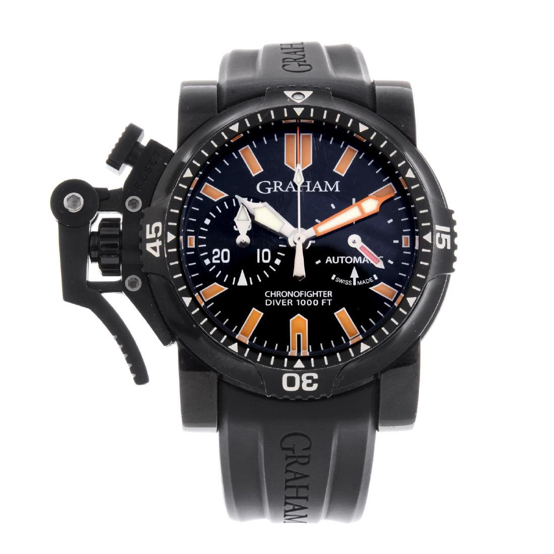 GRAHAM - a gentleman's Chronofighter Oversize Diver