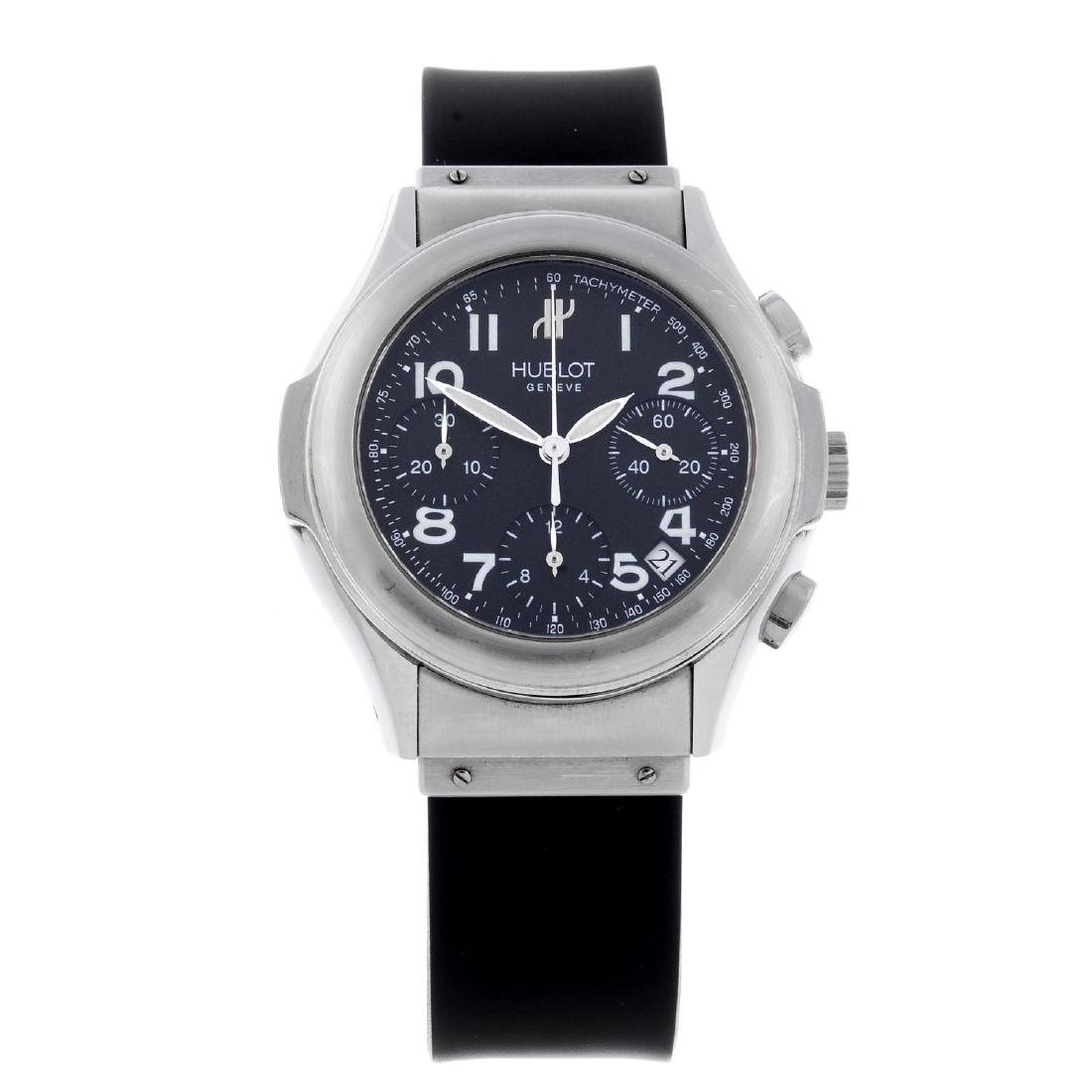 HUBLOT - a gentleman's MDM chronograph wrist watch.