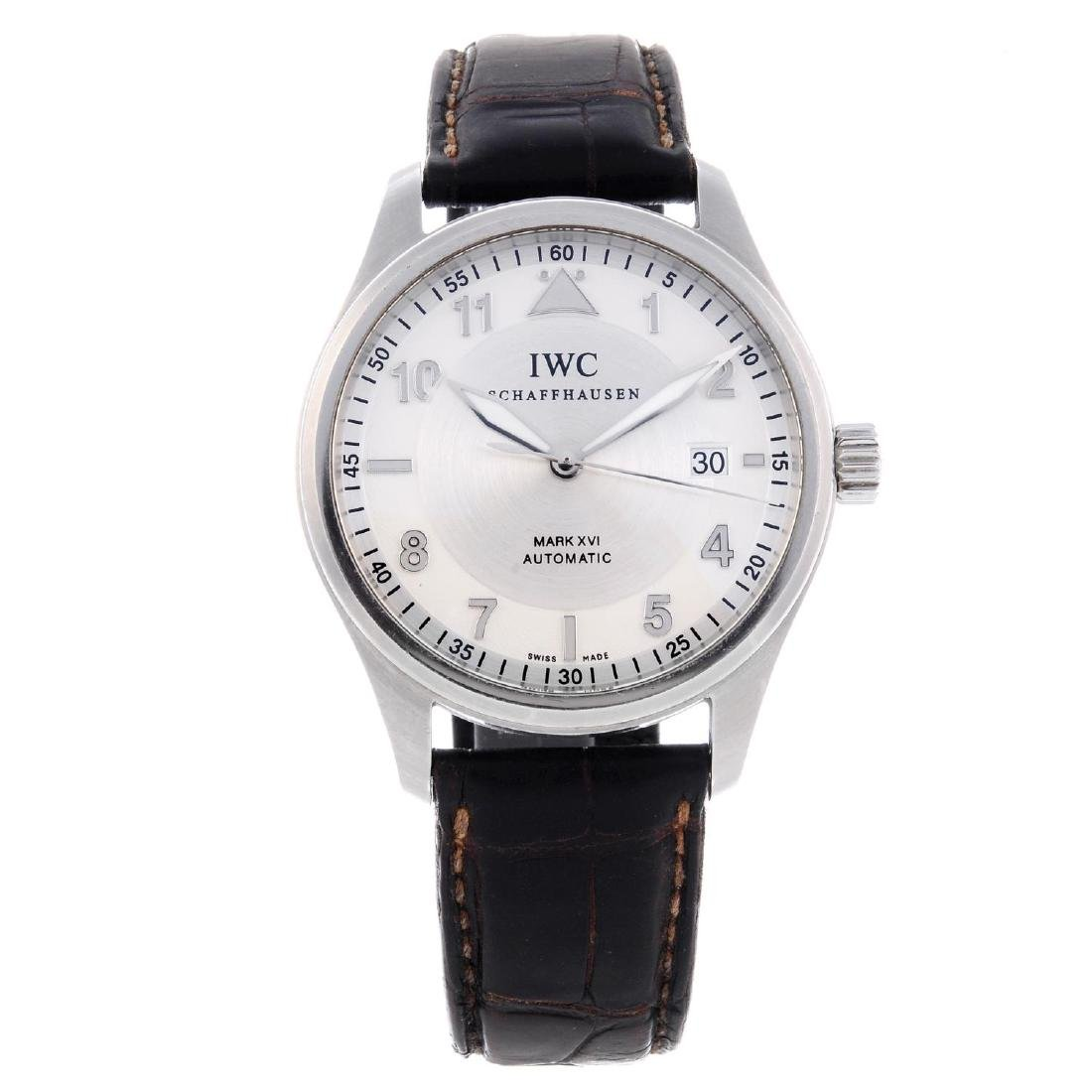IWC - a gentleman's Pilot Mark XVI wrist watch.