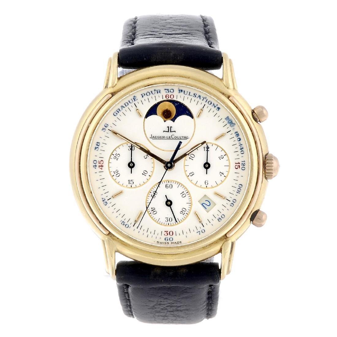 JAEGER-LECOULTRE - a gentleman's Odysseus chronograph