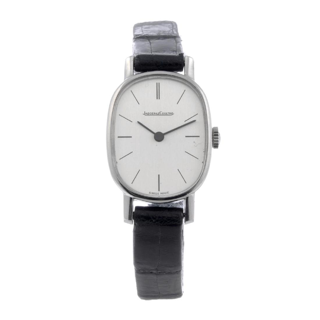 JAEGER-LECOULTRE - a lady's wrist watch. Stainless