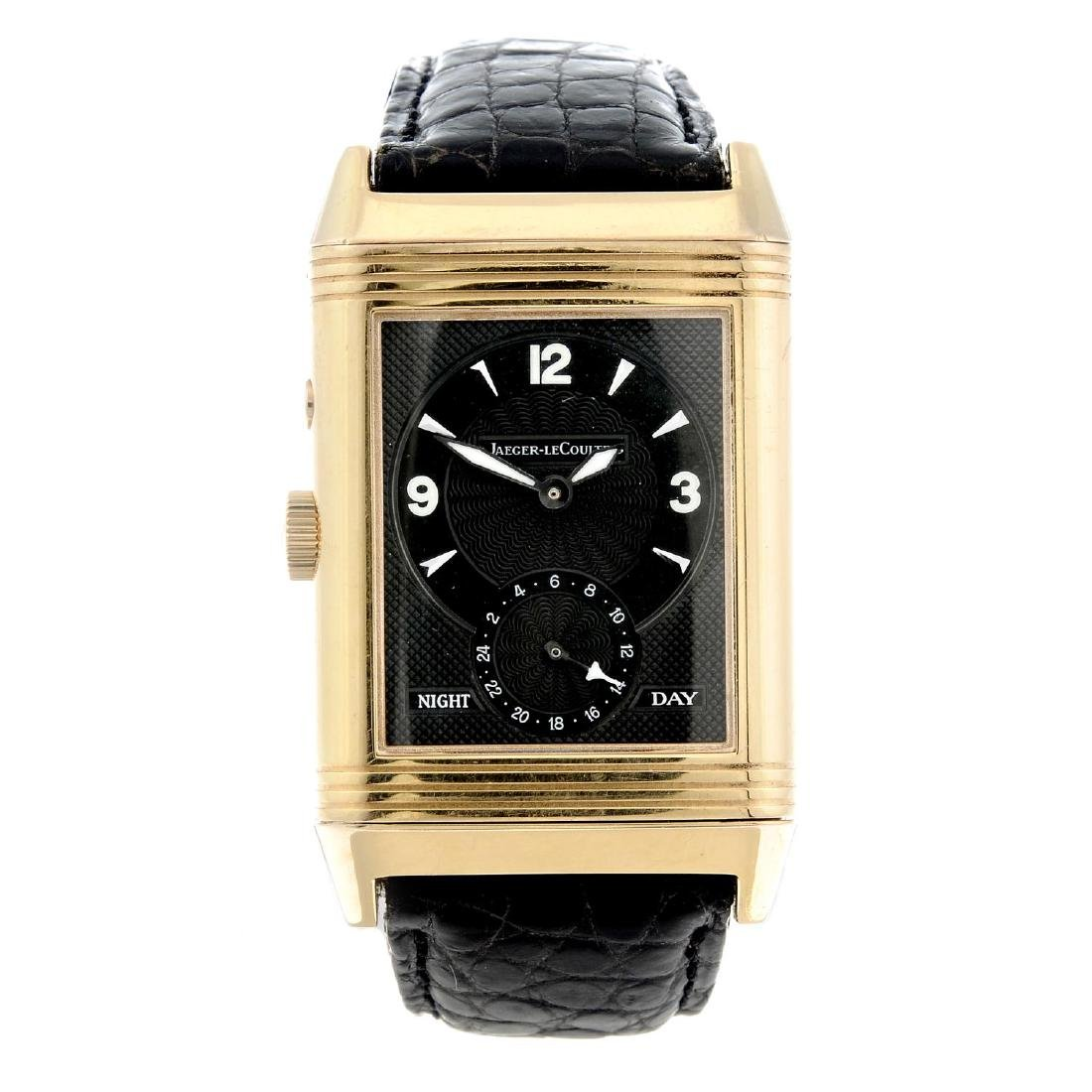 JAEGER-LECOULTRE - a gentleman's Reverso Night Day