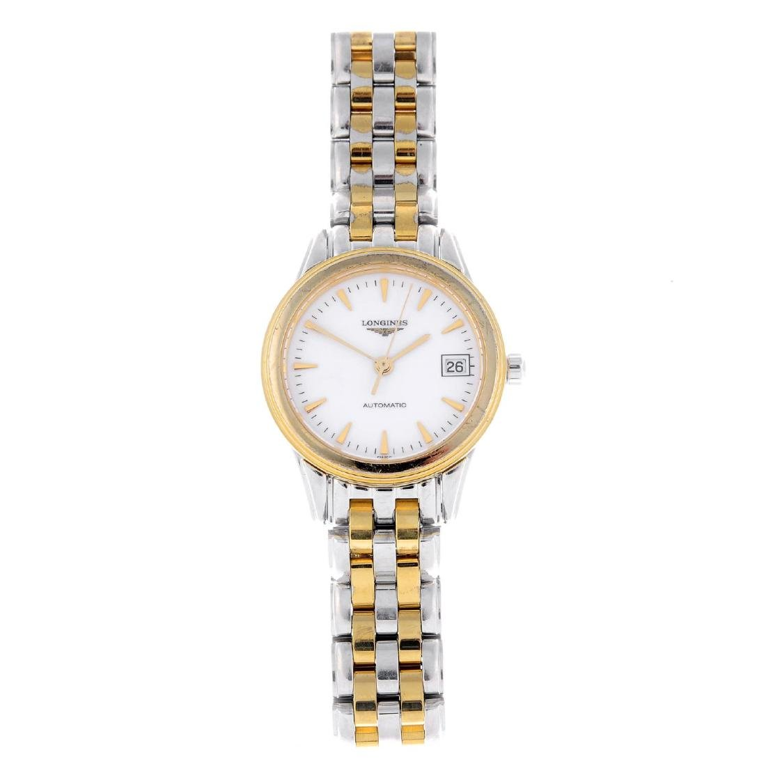 CURRENT MODEL: LONGINES - a lady's Flagship bracelet